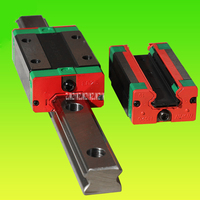 New Linear Guide Square Open Type Slider   HGH25CA Slider (Square) + HGW25A Slider (Flange type) + HGR25R * 3000 / 1700mm Rail
