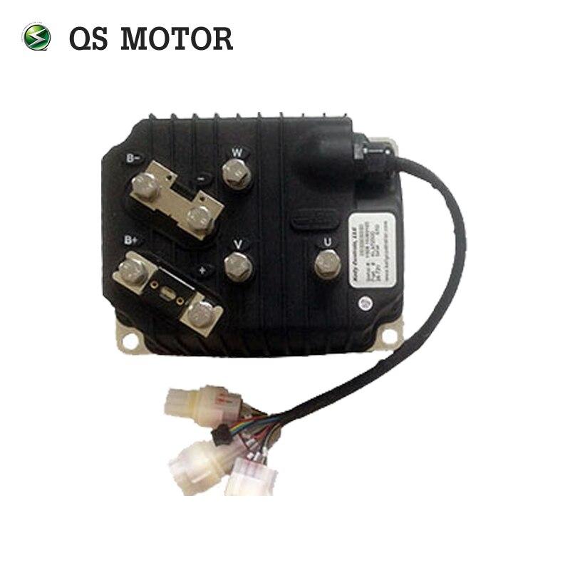 KLS7240DC, 24 V-72 V, 350A, contrôleur de moteur sans brosse sinusoïdal avec CAN BUS pour moteur de moyeu de roue électrique