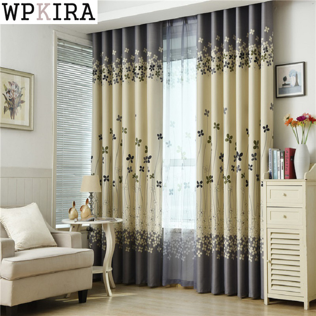 Good Small Flower Curtains For Living Room Bedroom Printing American Style Garden  Curtain English Flowers Shading S102u002630