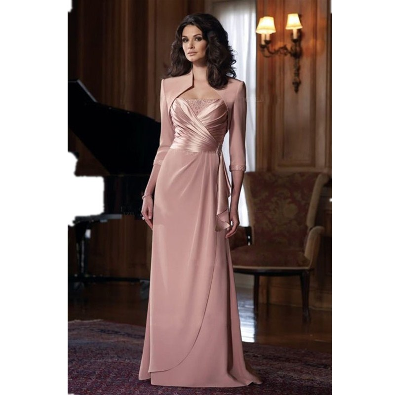 Mother Of The Groom Dress: Vestidos Novias Cortos Pink Mother Bride Gowns A Line