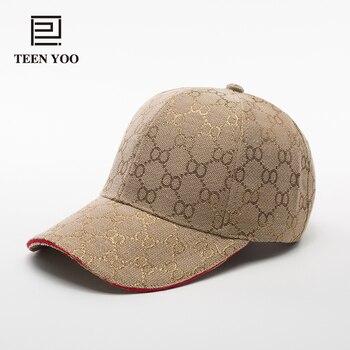 2018 nueva gorra de béisbol de moda de algodón geométrico para mujer de  verano informal de béisbol Vintage sombrero Casquette Homme Snapback e19a194e963