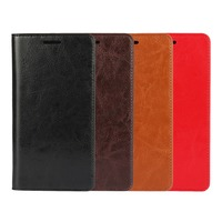 Original Xiaomi Redmi Note 2 Case New Auto Flip Style Quality Genuine Leather Back Cover 5