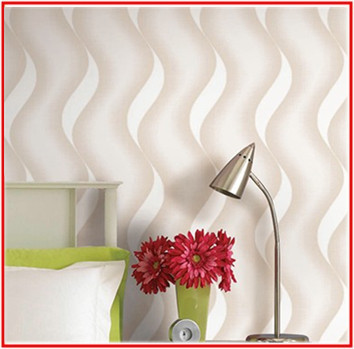 Waved Lines Design Latest & Eye Catching Wallpaper for Home-in ...