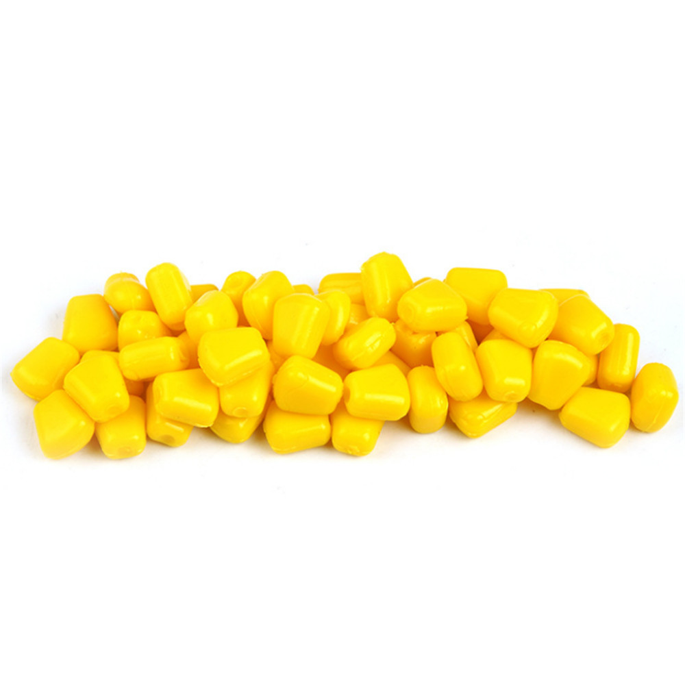 10Pcs/Lot 0.33g 1cm Super Quality Soft Lure Corn Carp Fishing With Good Smell Artificial Floating Baits Fishing Accessories