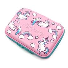 unicorn pencil case Kawaii kalem kutusu EVA trousse scolaire stylo Creative school supplies estojo escolar pencilcase