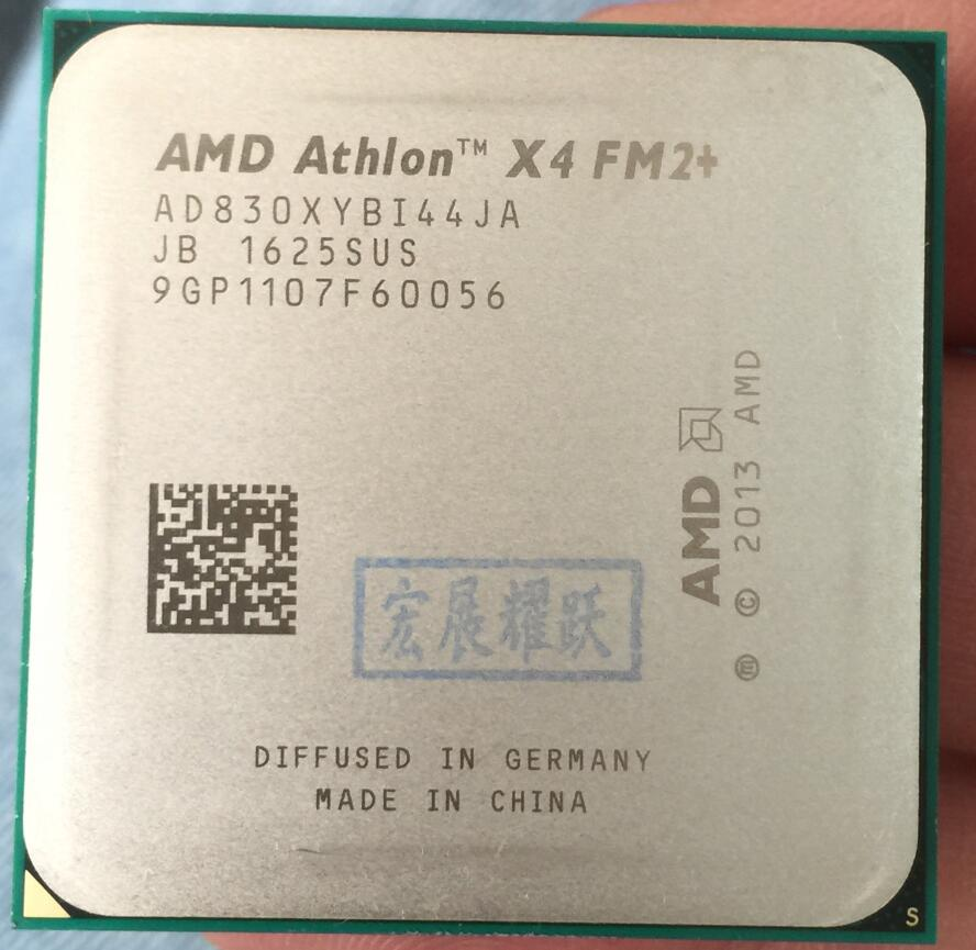 все цены на AMD Athlon X4 830 X830 FM2+ Quad-Core CPU 100% working properly Desktop Processor онлайн