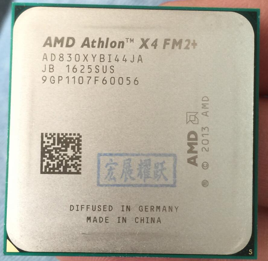 AMD Athlon X4 830  X830  FM2+ Quad-Core CPU  100% Working Properly Desktop Processor