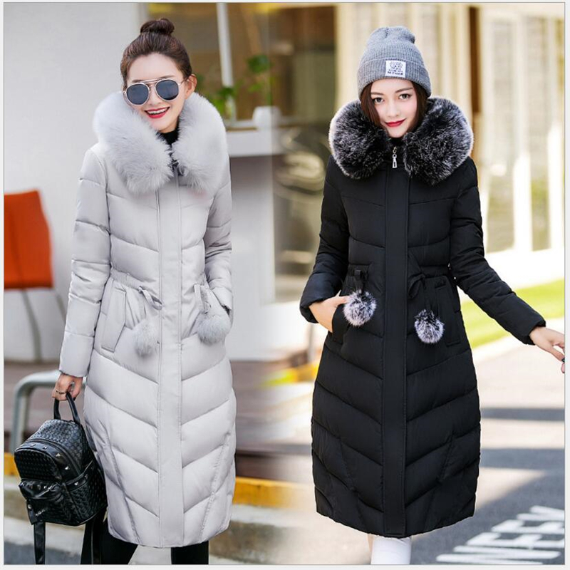 Black Slim Winter K162 Feminino Woman gray Parkas pink Solid Women's Jacket And Women Long Casacos New Jackets Coat Clothes Coats xqdzTwxf