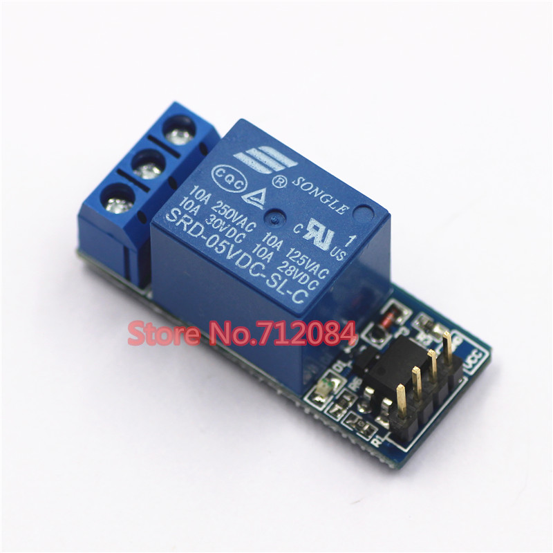 Un module de relais à 1 canal, avec isolation optocoupleur, entièrement compatible avec le Signal 3.3 V et 5 V, contrôle de relais