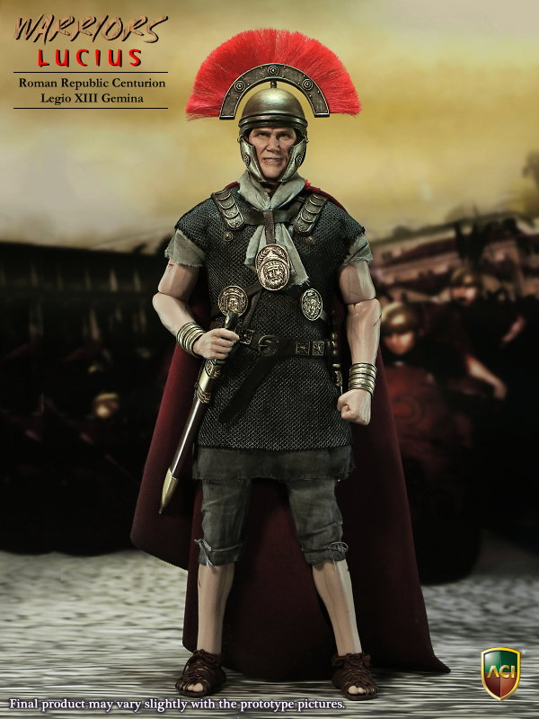 Toys 1/6 Warrior Lucius Action Figure Roman Republic Centurion XIII Gemina Collection Model Toys With box new hot 17cm avengers thor action figure toys collection christmas gift doll with box j h a c g