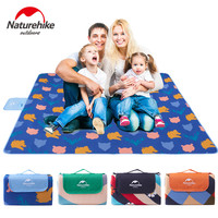 Naturehike 200x200CM Camping Picnic Mat Outdoor Waterproof Suede Blanket Sand Beach Barbecue Multiplayer Foldable Mattress VK069