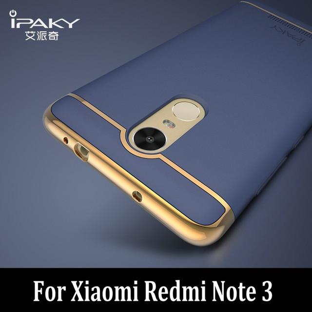 Xiaomi Redmi Note 3 Case Original IPaky 3in1 Top Quality Redmi Note 3 Pro Prime PC Case cover for Xiaomi Redmi Note 3 case