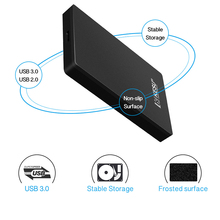 KESU 2.5″ Portable External Hard Drive USB 3.0 120GB 160GB 250GB 320GB 500GB 750GB 1TB 2T HDD Externo Hard Disk for PS4/Xbox One