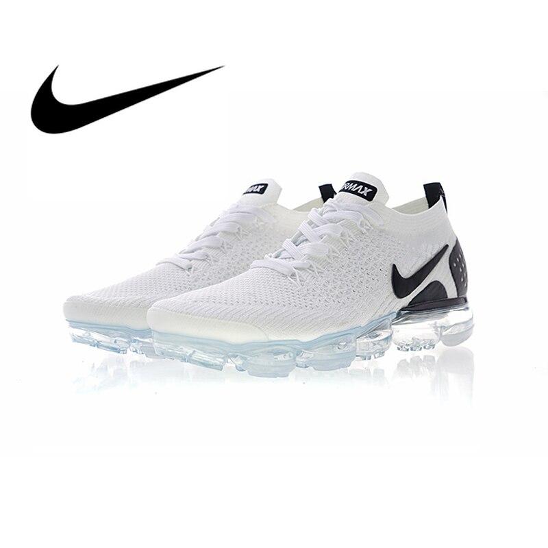 Chaussures de course Nike Air VaporMax authentiques pour hommes chaussures de course légères pour Sports de plein Air de bonne qualité baskets confort 942842