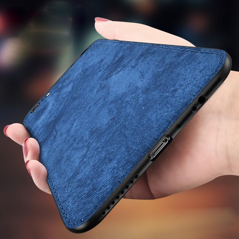 For Samsung Galaxy A50 A30 Case Cloth Ultra-thin Silicon Case For Samsung Galaxy S10 Plus S10E Cover For Samsung M10 M20 M30