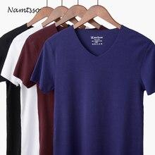Мужская Модальная одноцветная бесшовная одежда для нижнего белья облегающая супер Облегающая майка крутые летние рубашки