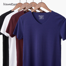 Men's Modal Solid Color Seamless Underwear Clothing Close-fitting Super Strench Undershirt Cool Summer Shirts