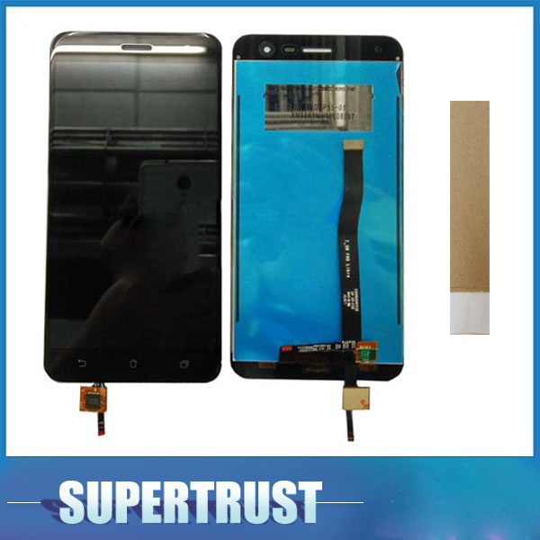 5.5 Inch For <font><b>Asus</b></font> <font><b>Zenfone</b></font> <font><b>3</b></font> <font><b>ZE552KL</b></font> <font><b>LCD</b></font> <font><b>Display</b></font> Screen+Touch Screen Digitizer Assembly Replacement Part Black Color image