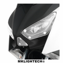 MKLIGHTECH FOR YAMAHA X-MAX 250 XMAX 250 X-MAX 300 XMAX 300 2017-2018 motorcycle Headlight Protector Cover Shield Screen Lens все цены