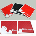 New design Car Styling baymax non-slip Mat Accessories Mat Anti-slip Sticky Mats 4 color to chose car products Anti-slip