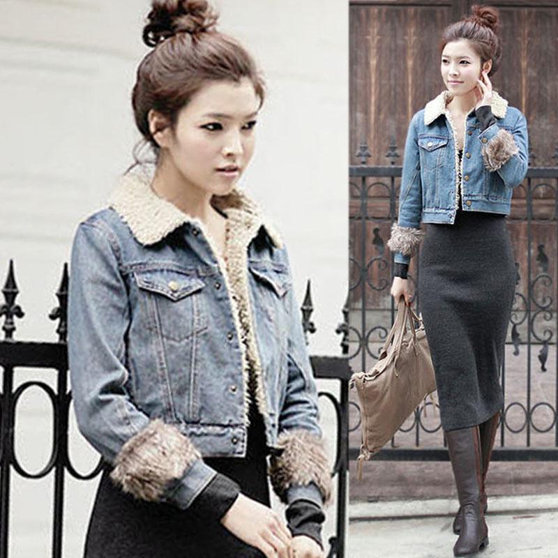 Popular Denim Jacket with Fur inside-Buy Cheap Denim Jacket with ...