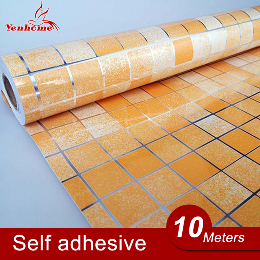 10m lot pvc aluminum foil self adhesive stickers for for White self adhesive wallpaper