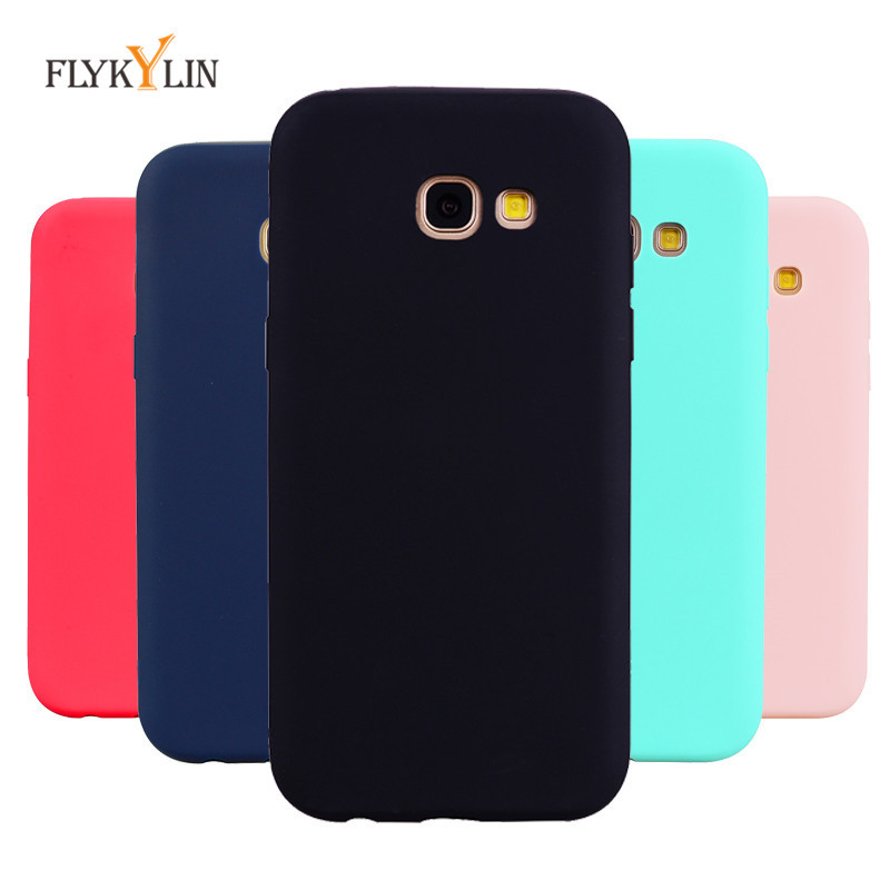 Soft Silicone <font><b>Case</b></font> For Coque <font><b>Samsung</b></font> Galaxy <font><b>A5</b></font> <font><b>2017</b></font> <font><b>Case</b></font> Cover for Fundas <font><b>Samsung</b></font> A3 <font><b>2017</b></font> A7 <font><b>2017</b></font> Luxury Candy Color <font><b>Phone</b></font> <font><b>Cases</b></font> image