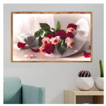 5D DIYdiamond Painting Full Square Diamond Rose Embroidery Cross Stitch MosaicSet Home Wall Decoration