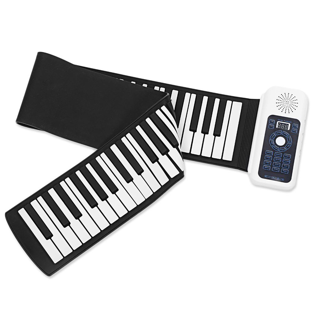 61key/88 Key Travel Soft Keyboard Home Education For Kids And Adults Digital Roll Up Piano With 128 Rhythms Foldable Electric61key/88 Key Travel Soft Keyboard Home Education For Kids And Adults Digital Roll Up Piano With 128 Rhythms Foldable Electric