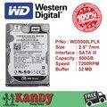 Western Digital WD Black 500 ГБ hdd SATA 2.5 дискотека duro ноутбук внутренний сабит жесткий диск interno hd ноутбук жесткий диск disque