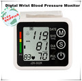 2015 Health Monitors Rushed 5pcs/lot Wrist With Pulse Rate Heart Hightechnology Blood Pressure Monitor Bp Automatic Tonometer