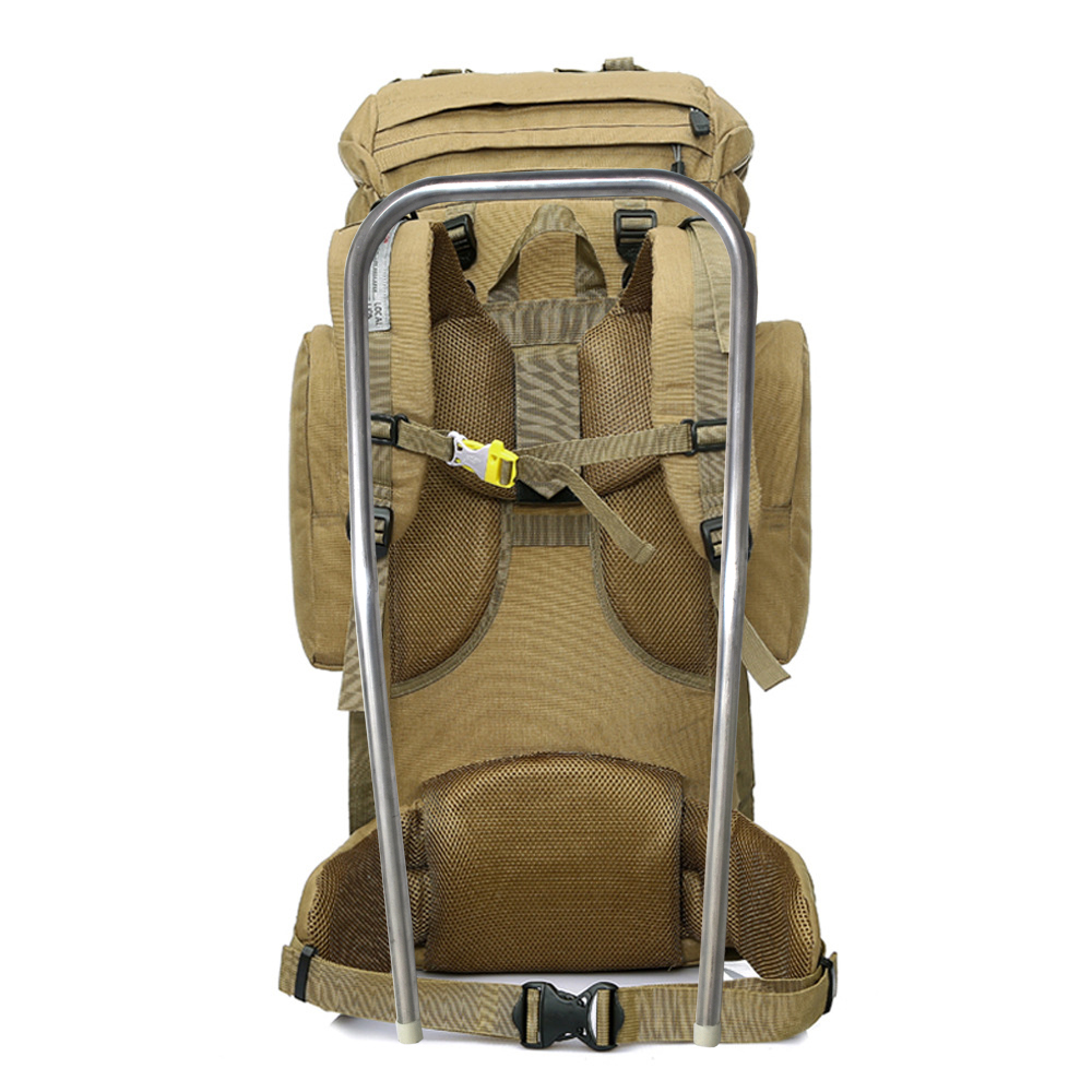 aluminum frame outdoor camping bag Travel Tactical Backpack Waterproof 600D Polyester Military Molle Bag for Hunting Hiking outlife new style professional military tactical multifunction shovel outdoor camping survival folding spade tool equipment