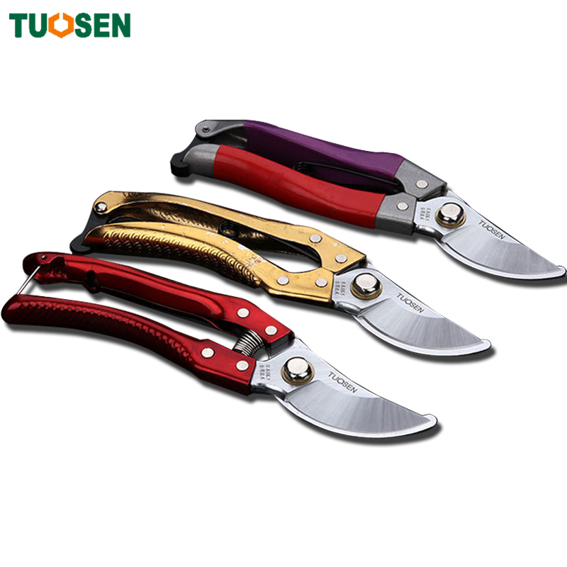 1piece garden tools secateurs gardening pruning scissors for Gardening tools pruning