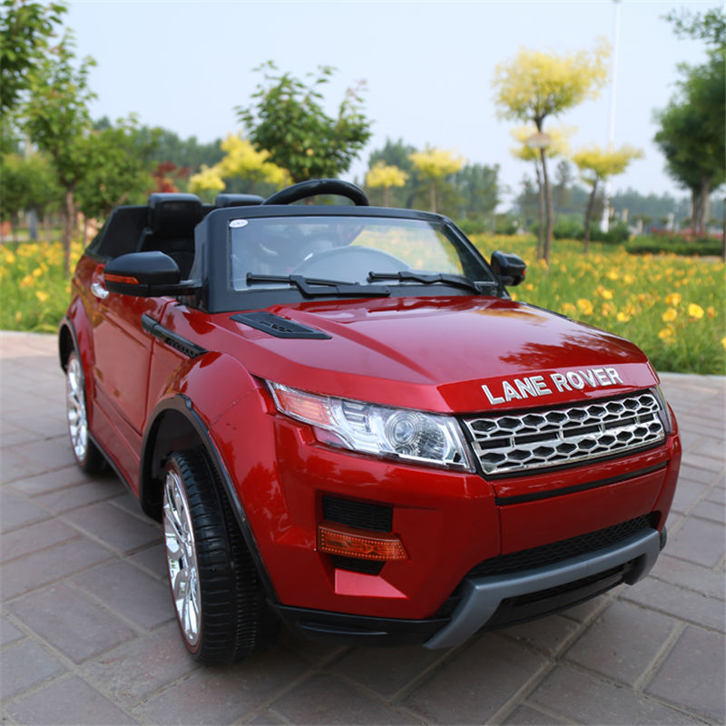 aliexpresscom buy new lane rover model children can sit in electric car real car painting four wheel flash remote control suv toy car off road from