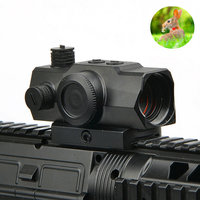 1x22 Red Dot 20 22MM Rail Holographic Hunting Optics Scope with Reflex Sight Mini Red Dot for Airsoft Rifle Scope