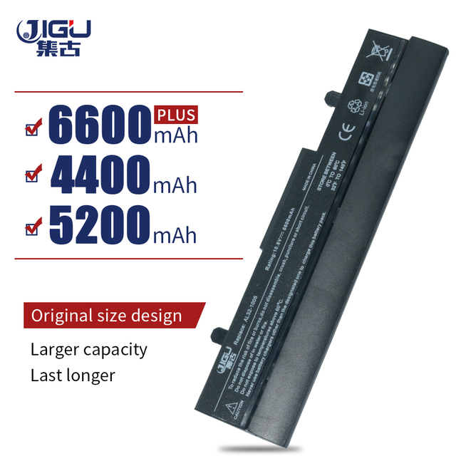 JIGU סוללה עבור Asus Eee PC 1001 1001HA 1001P 1001PX 1005 1005PX 1005H 1005HA 1005HE AL32 1005 ML32 1005 PL32 1005