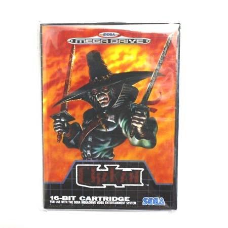 16 bit Sega MD game Cartridge with Retail box - Chakan game card for Megadrive Genesis system