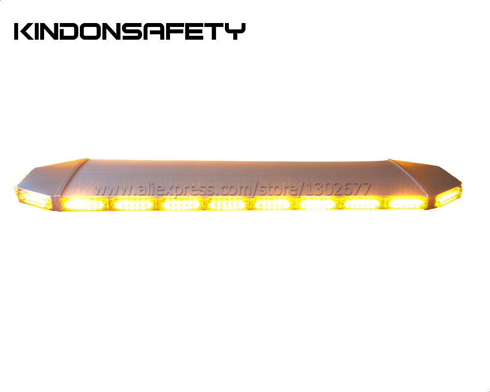 FedEx! Gen3 1 Вт LNR6 светодиодная сигнальная лампочка, стробоскоп световая с серебряной алюминиевой, DC12-24V, 1200 мм 48 дюймов