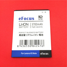 New 3700mAh BL243 Mobile Phone Battery for lenovo K3 Note K50-T5 Phone