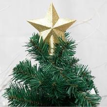 Christmas tree pendant Christmas pentagram creative tree top personality pendant Christmas decoratio