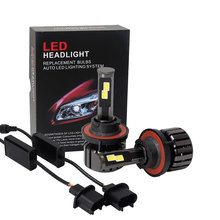 free shipping 120W LED headlight kit bulb H4 H13 9004 9007 dual car auto offroad 4x4 motorcycle truck trailer driving lamp