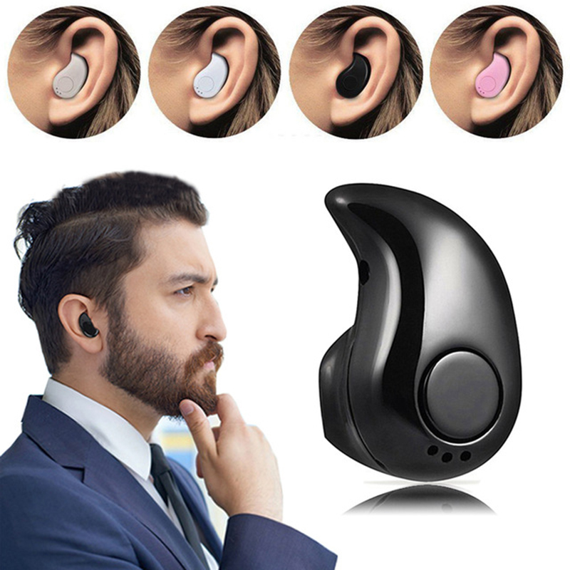 все цены на Ecouteur Mini Wireless Bluetooth Earphone Stereo Headset with Microphone Handfree In-ear Earphone For iPhone fone de ouvido S530 онлайн