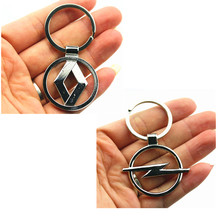 3D New style Metal Car Key Ring Fashion Brand Emblem case For Renault Opel Volvo Vw Mitsubishi Ford Peugeot Citroen accessories