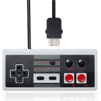 New Wired 2 7m Retro Gaming Controller Gamepad With Turbo Buttons For NES Classic Mini Edition
