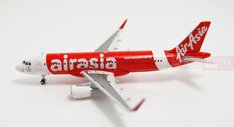 JC Wings XX4367 A320 Japan Asia Airways shark fin winglets 1:400 commercial jetliners plane model hobby