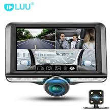 "LUU 4.5 ""IPS Touch Screen dash cam 360 gradi Full HD Fisheye Lens Macchina Fotografica dell'automobile dvr"
