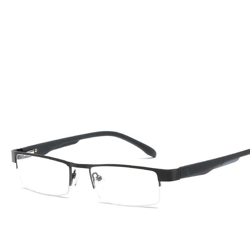 094d0aa881 ... Snvne presbyopic glasses Metal square half frame reading glasses for old  men old women Brand design