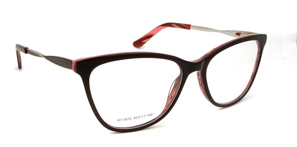 red frame glasses
