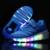Tamaño 27-37//Cesta Rodillo de zapatos led infantil Light Up Kids Boys & Girls Casual Luminosos Zapatillas de Deporte Zapatos brillan Con Ruedas enfant