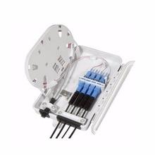 FTTH 4F Kern Glasfaser anschlusskasten 4 port optical fiber distribution box FTTX Glasfaser Box Splitter Box